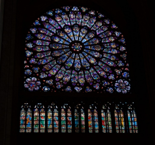 North Rose window- Notre Dame