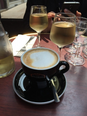 Coffee and wine- Paris
