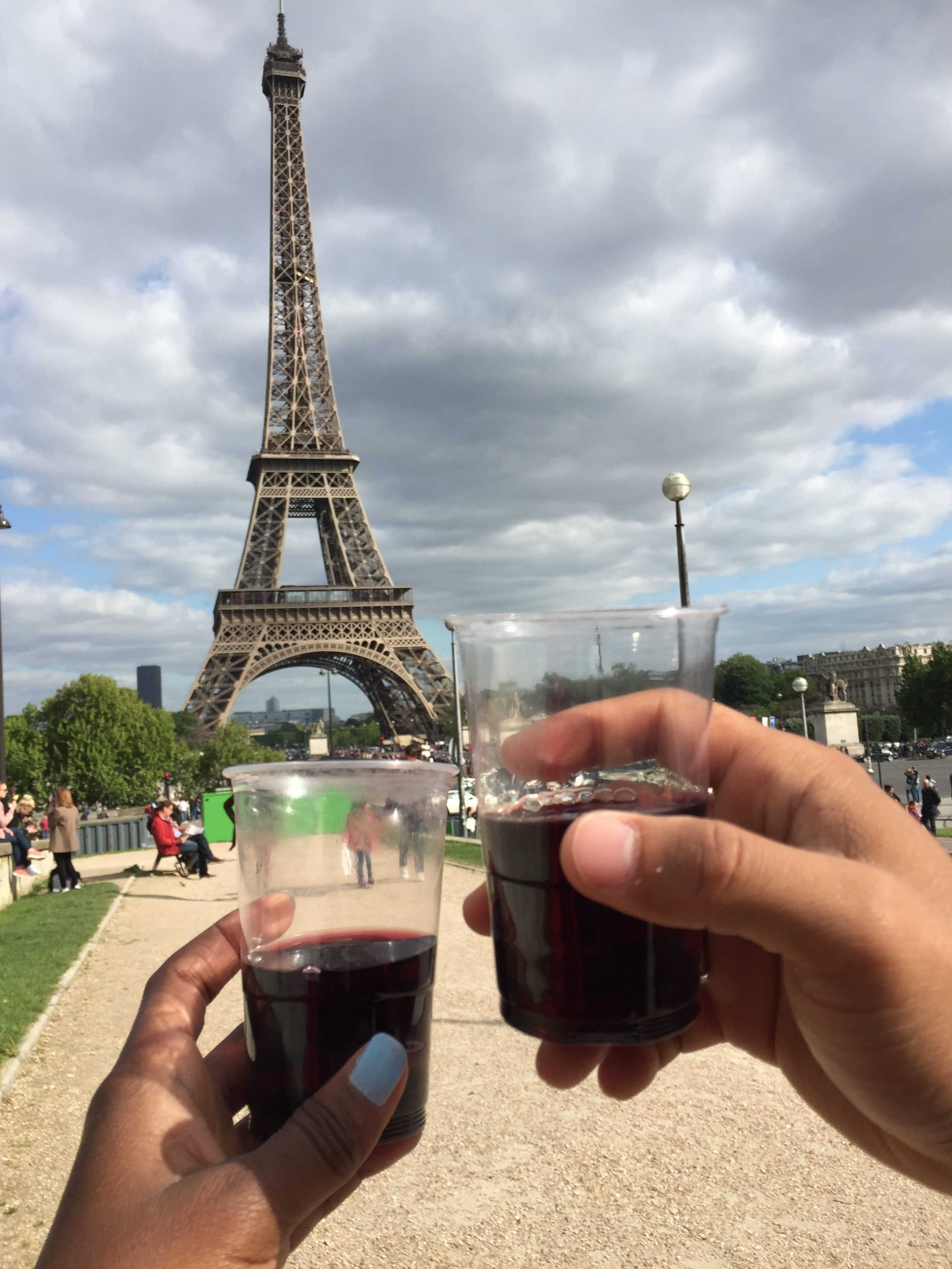 Eiffel Tower- wine