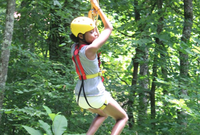 Zip Lining & White Water Rafting