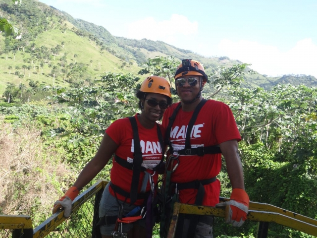 Zip Lining Dominican Republic