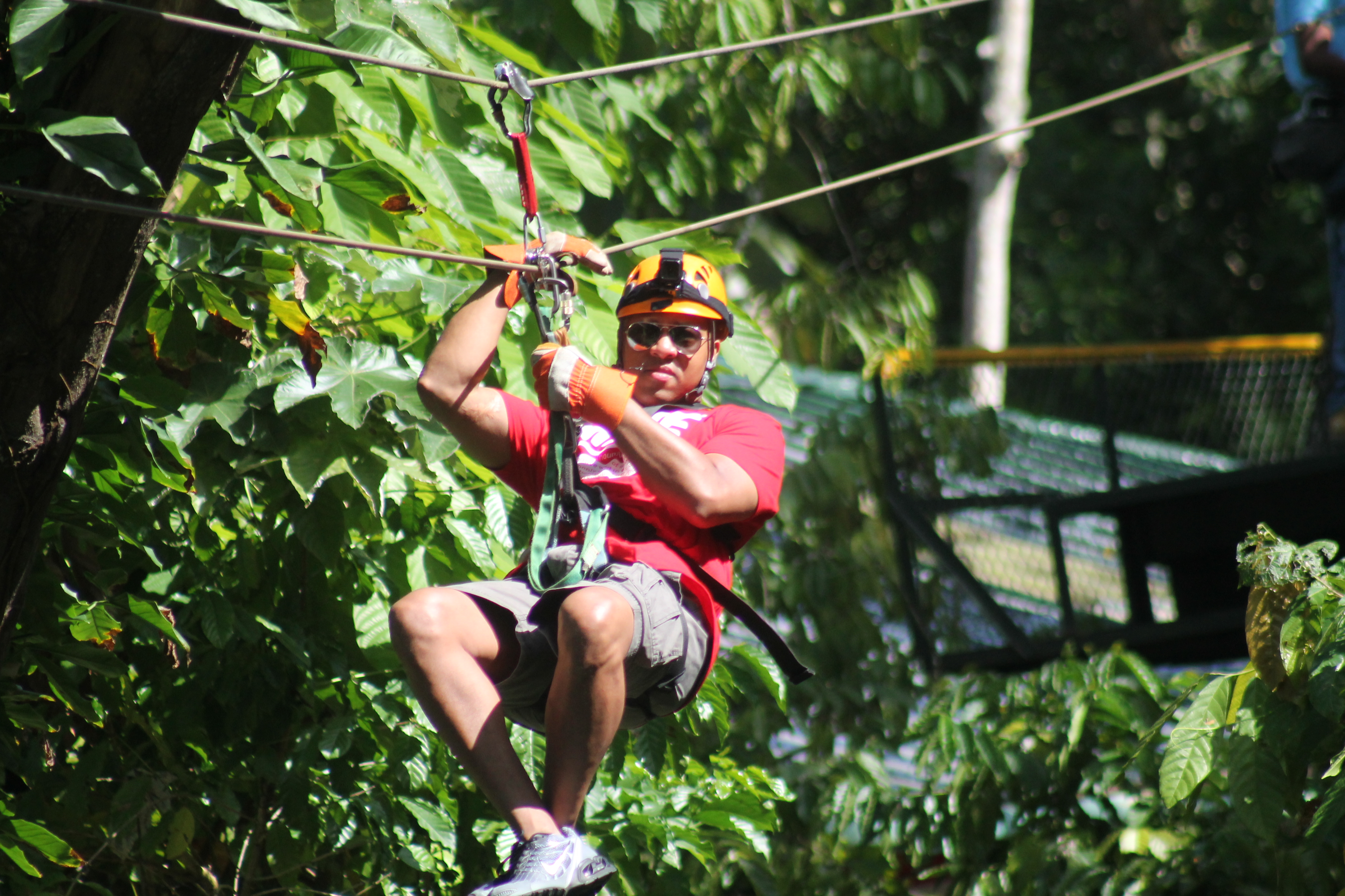 Zip Lining in Dominican Republic