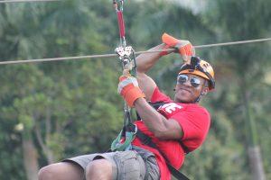 Zip Lining in Dominican Republic