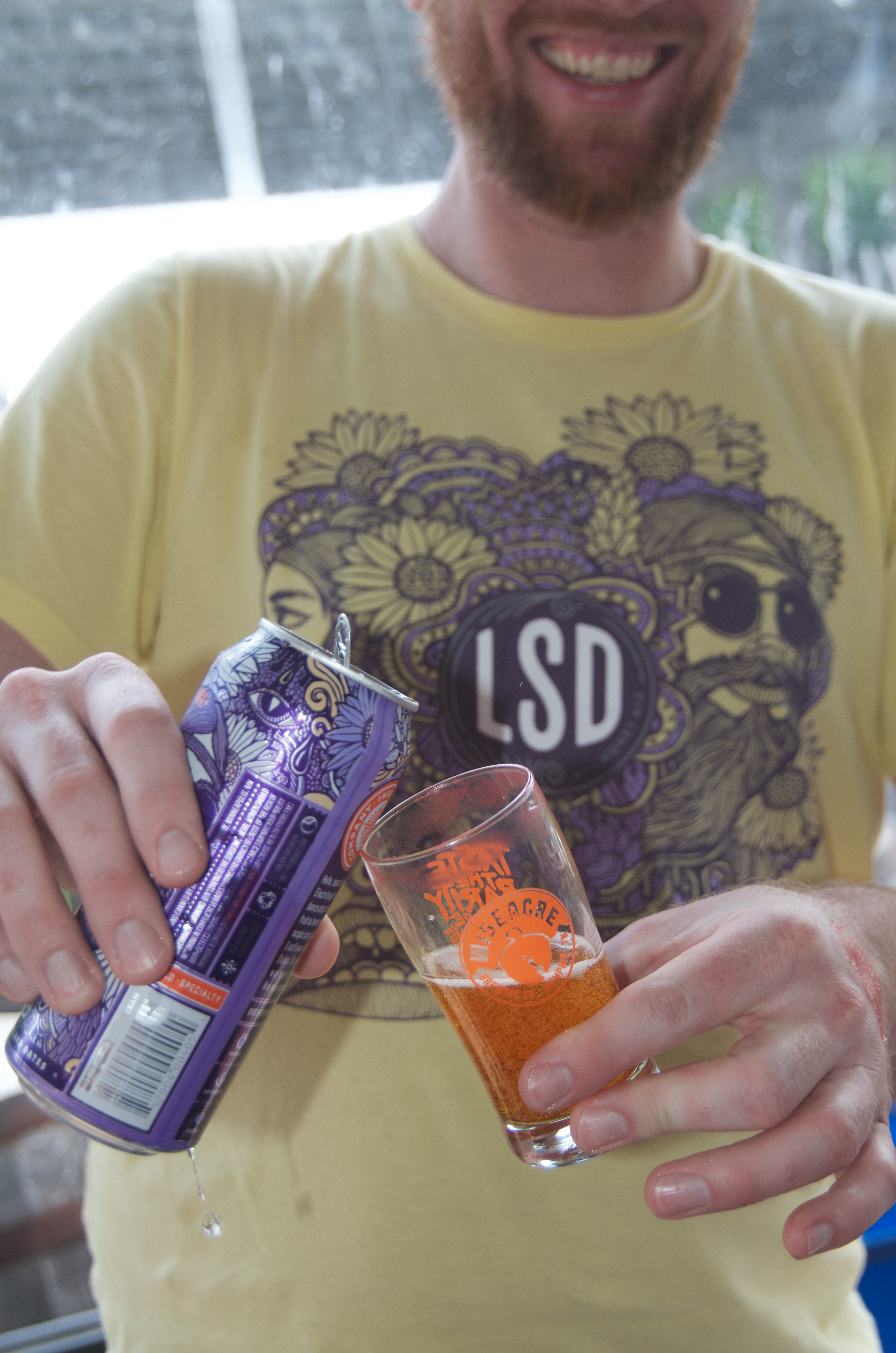 LSD Honey Ale, Indeed Brewing Co