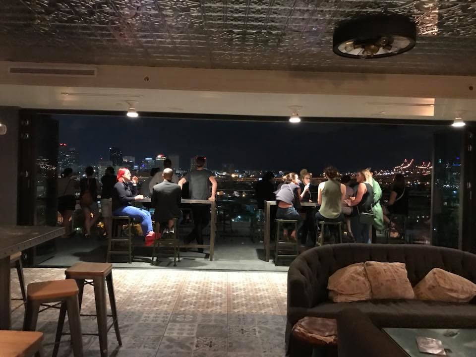 New Orleans, rooftop bars